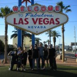 TEAM and Las Vegas sign